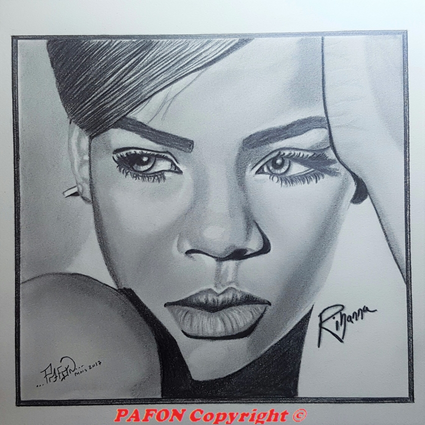 Rihanna by Pafon